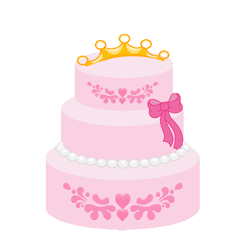 Decorate a Pink Princess Cake