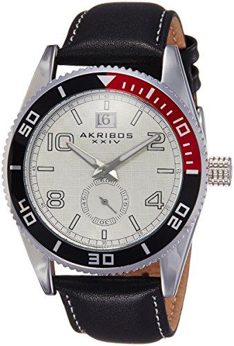 51HZm6GfODL - AK859SS Akribos XXIV Silver Mens watch