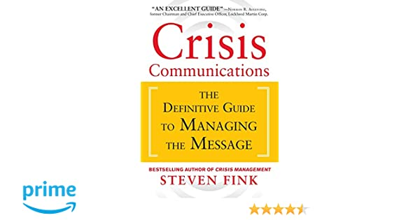 Crisis Communications Framework