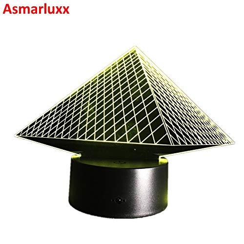 Licht spätestes LED Nachtlicht 3D Lampe LED Beleuchtung LED Lampe Mode bunt -