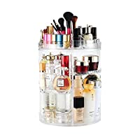 Boxalls Make up organizer,multifunctional cosmetics storage box with large capacity by