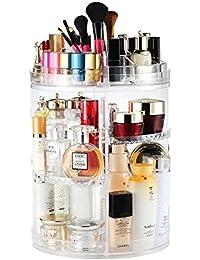 boxallsacrylic cosméticos organizador de maquillaje o productos de cuidado personal belleza caja con tapa cajones/