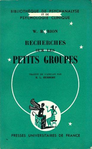 Recherches sur les petits groupes