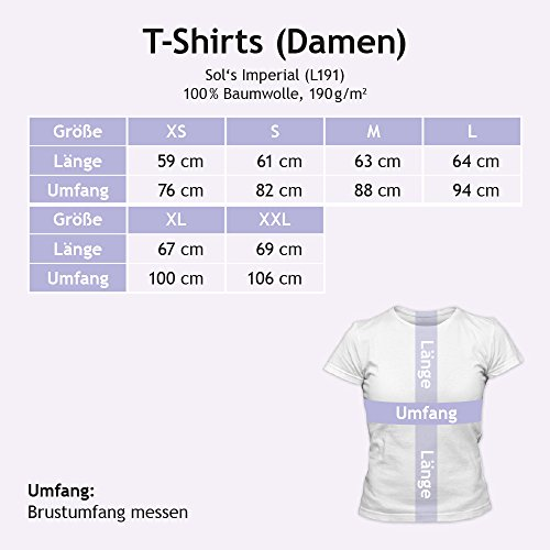 Flowerpower Tierpflegerin #1 T-Shirt | Berufe | Follow your dreams | Traumberuf | Frauen | Shirt © Shirt Happenz Rot (Red L191)