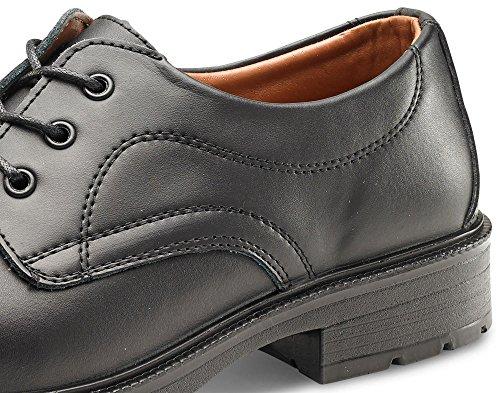 b-click Schuhe Managers Sicherheit Schuhe Schwarz schwarz