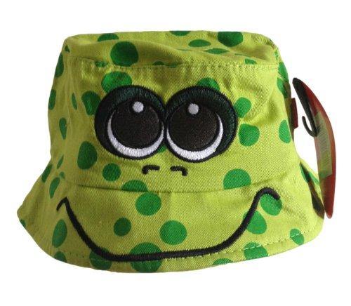 bush-cappello-da-sole-motivo-rana-verde-verde