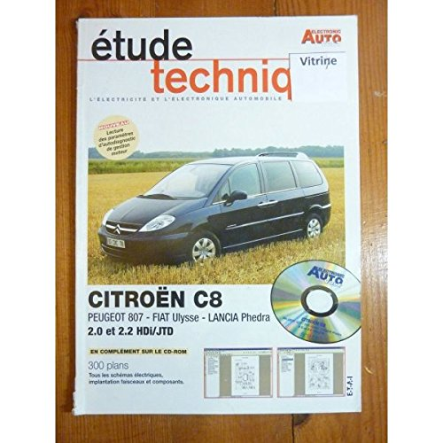 Electronic Auto Volt - C8 Ulysse Phedra Revue Technique Electronic Auto Volt Citroen par  E.T.A.I. (Broché)