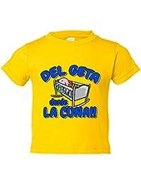 Camiseta niño del Geta desde la cuna Getafe fútbol
