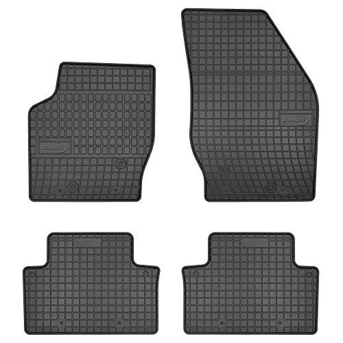 Bottari 39691 Set de 4 tapis de sol sur mesure en caoutchouc pour Seat Ibiza 2008 - 2016