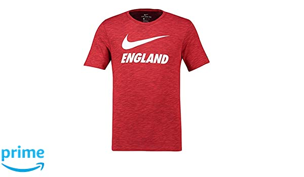 51d245a0 Nike Ent M NK Dry Slub prssn, Men's T-Shirt, Men's, 888873 600, Challenge  Red, Small: Amazon.co.uk: Sports & Outdoors