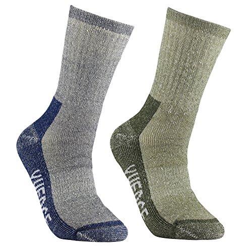 51HZvWfBILL. SS500  - YUEDGE Men's Merino Wool Hiking Walking Trekking Socks Merino Wool Cushioned Crew Socks For Hiking Backpacking Climbing Winter