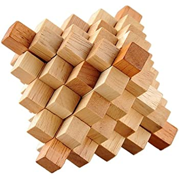 Wooden 3d Puzzle - Great Wooden Puzzles for Adults - The ...
