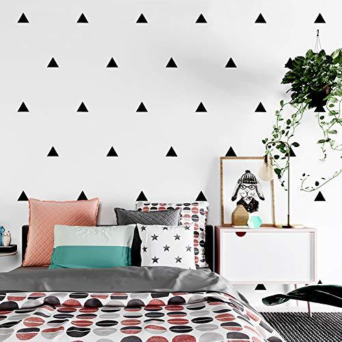 XY399 degrees Nordischen Stil Geometrische Schwarz Und Weiß Dreieck Tapete Wohnzimmer Bettwäsche Zimmer TV Hintergrund Wandtapete Roll-in Tapeten Von Heimwerker WEIß 0,53 mt * 10 mt -