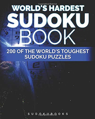 World's Hardest Sudoku Book: 200 of the World's Toughest Sudoku Puzzles por Guy Rinzema