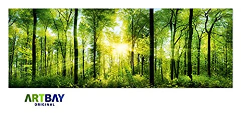 Poster De Foret - Forêt Poster XXL Panorama Photo - 118,8