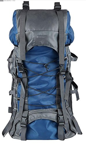 Z&HX sportsOutdoor Bergsteigen Tasche Schulter Camping Wandern M?nnlich Und Weiblich Gro?e Kapazit?t Blue