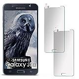 moex 2X 9H Panzerfolie für Samsung Galaxy J5 (2016) | Panzerglas Matt Glasfolie [Tempered Glass] Screen Protector Displayschutz-Folie für Samsung Galaxy J5 2016 Schutzfolie Glas
