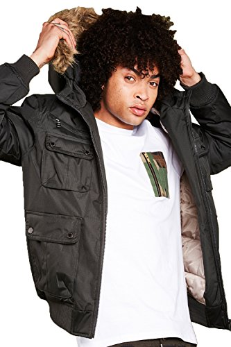 Brave Soul -  T-shirt - Camicia - Basic - Classico  - Maniche corte  - Uomo White /Camo