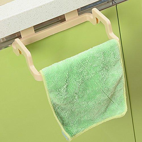 Kicode Müllsäcke Gestell Küche Trash-Beutel-Halter für Hanging Schrank-Tür Zurück Style Stand (Mülleimer-beutel-halter)
