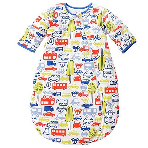 Sac de couchage de bébé Cartoon Mignon hiver Toddler Sac de couchage Manche longue 0-3 ans