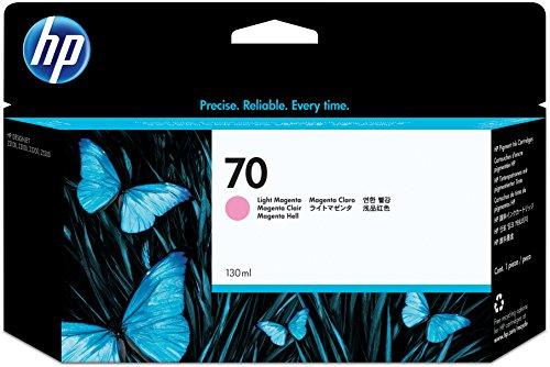 HP 70 Cartouche d'encre d'origine Vivera Magenta clair 130 ml