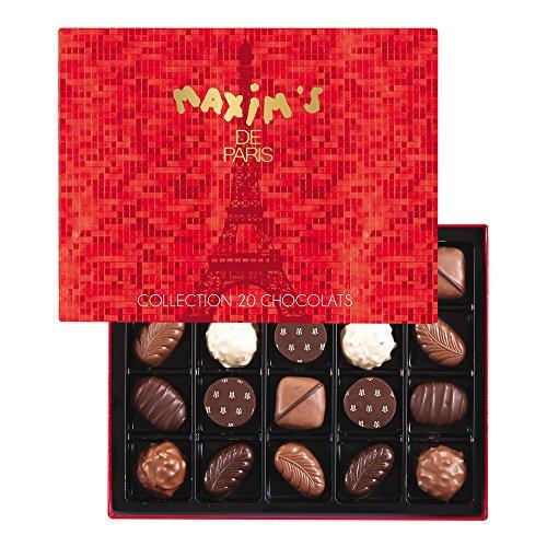 Maxims de Paris Maxims 2016 Holiday Collection Chocolates Gift Box 200 g (20 pieces)