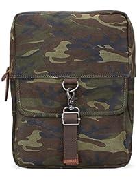 Bareskin Olive Color Camouflage Print Canvas Sling Casual Backpack/Stylish Sling Bag/Branded Sling Bag/Designer...