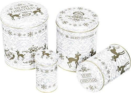RBV Birkmann – gebäckdosen Set Rehkitz Merry Christmas 4 Teilig