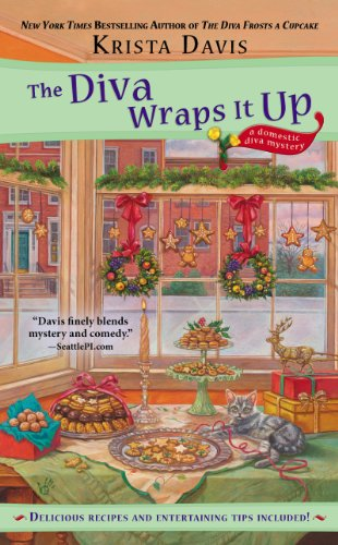 The Diva Wraps It Up (A Domestic Diva Mystery Book 8) (English Edition)