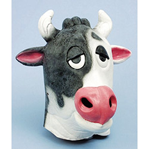 Kuh Maske - NET TOYS Tiermaske Kuh Bulle Rind