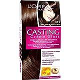 Coloración Sin Amoniaco Casting Créme Gloss 415 Castaño Helado de L'Oréal Paris