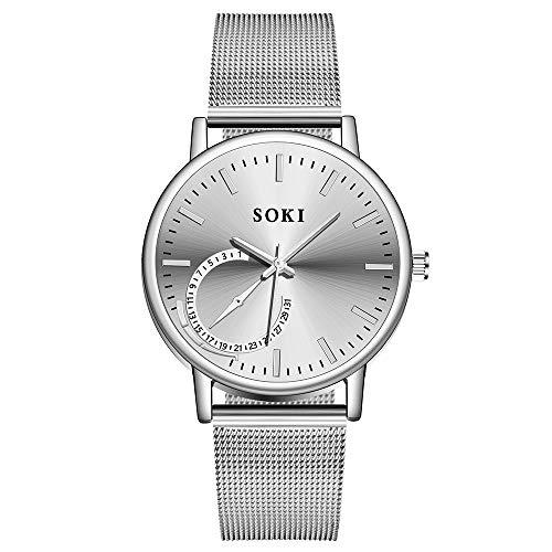 f6b0b1035f8 POJIETT Relojes para Parejas de Marca Reloj Pulsera Analogico de Cuarzo  Reloj Oro Rosa Dorado Hombre Mujer Wrist Watch Men Women Regalos
