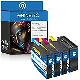 Farbset 4x Original NINETEC NT-4H932/933XL Tintenpatronen kompatibel zu HP 932XL 933XL