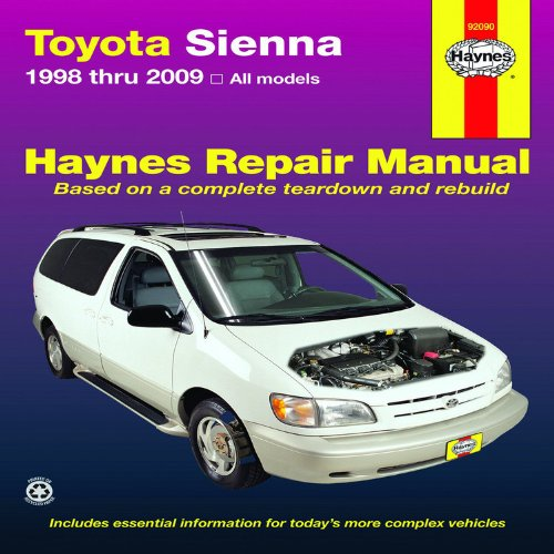 haynes-repair-manual-toyota-sienna-1998-through-2009