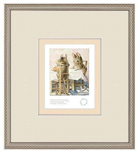 artframed Zwei Bad Mäuse Exklusive SIGNED Limited Edition Druckvorlage von/495gerahmt Prints von Beatrix Potter