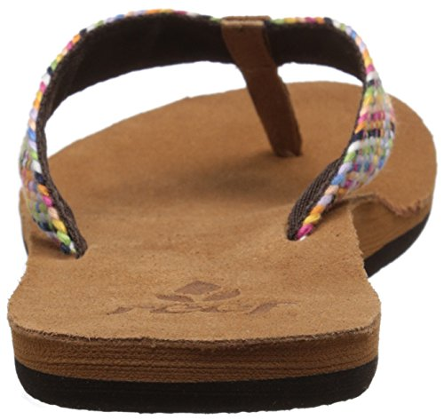 Reef Salty Air, Sandales Plateforme femme Multicolore (Multi)