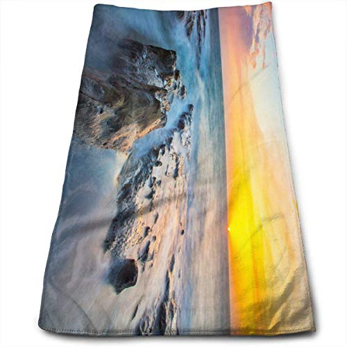 Liumiang Handtuch Exotic Last Light Hand Towels Tie-Dye Bear Terry Towel Toilet Wipes - Terry Tie Dye
