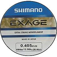 Shimano Exage - Sedal monofilamento (1000 m, 0,405 mm, 12,90 kg)