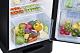 Samsung 255 L 3 Star Direct Cool Single Door Refrigerator(RR26N389ZBS/HL, Black Inox, Base Stand with Drawer, Inverter Compressor)