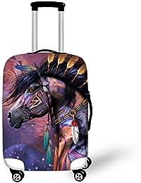 showudesigns, Set de bagages Multicolore cheval L(fit 26