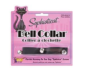 Bristol Novelty Forum Novelties 25106 - Collar para Gatos, Color Negro, Talla única