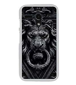 Lion 2D Hard Polycarbonate Designer Back Case Cover for Moto G Turbo Edition :: Moto G Turbo (Virat Kohli Edition)