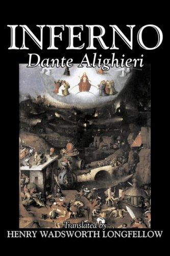 Inferno by Dante Alighieri, Fiction, Classics, Literary Cover Image