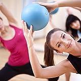 Mini Pilates Ball »Balle« 33cm / 23cm / 28cm / 33cm Gymnastikball für Beckenübungen, Stärkung der Bauchmuskulatur und partielle Massage. navyblau / 33cm - 3