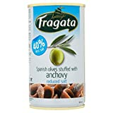 Fragata Oliven gefüllt mit Anchovis Weniger Salz 350g