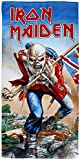 for-collectors-only Iron Maiden Handtuch The Trooper Strandtuch Bath Towel Badetuch