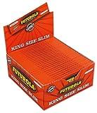 Maxibox - 50 Stk. FUTUROLA - King Size Slim Blättchen - sehr dünn - optimal für die FUTUROLA Drehmaschiene