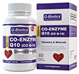 G-Biotics Co-Enzyme Q10 (Co Q10) ~ HIGH GRADE 100mg ~ ON SALE NOW!