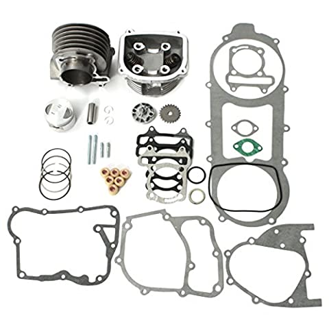57 mm Bore Cylinder Engine Rebuild Kit pour 150 cc GY6 Chinese Scooter parts