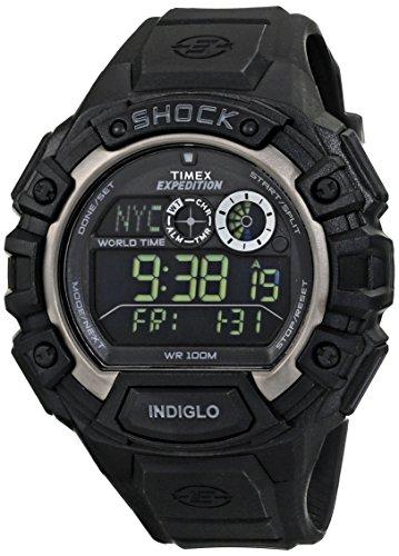 51Ha9Eui3yL - Timex T49970 Shock Digital Grey Mens watch
